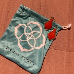 "Kendra Scott ""Alex"" earrings!"